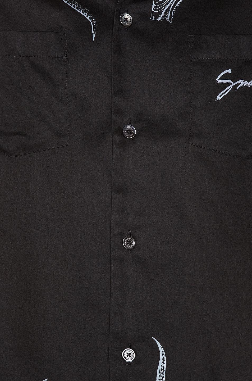 Image 6 of Givenchy Hawaiian Shirt in Black