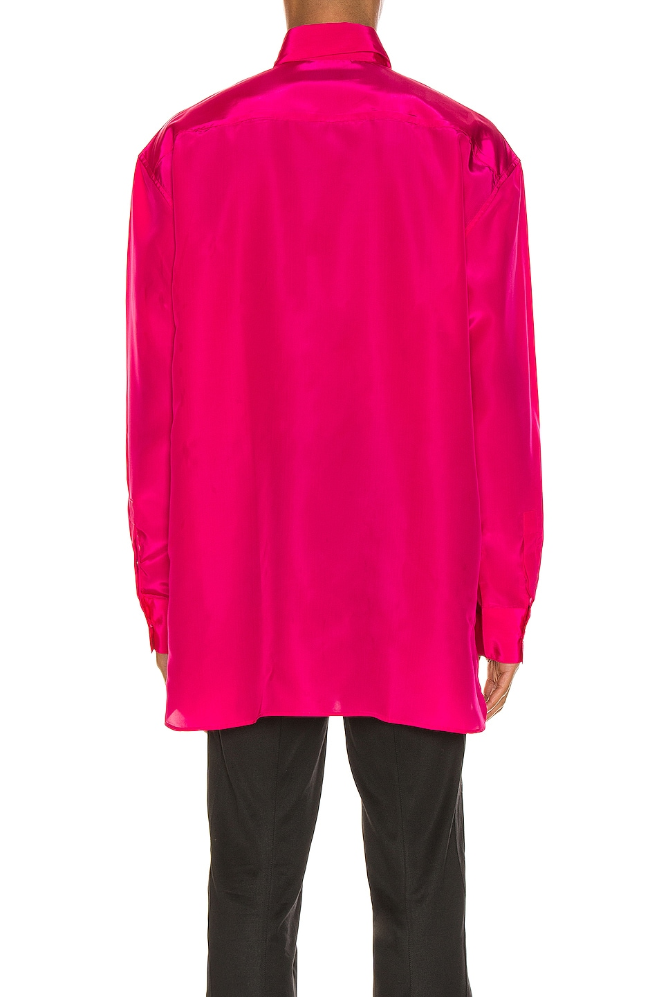 Image 4 of Givenchy Long Sleeve Shirt in Fuchsia