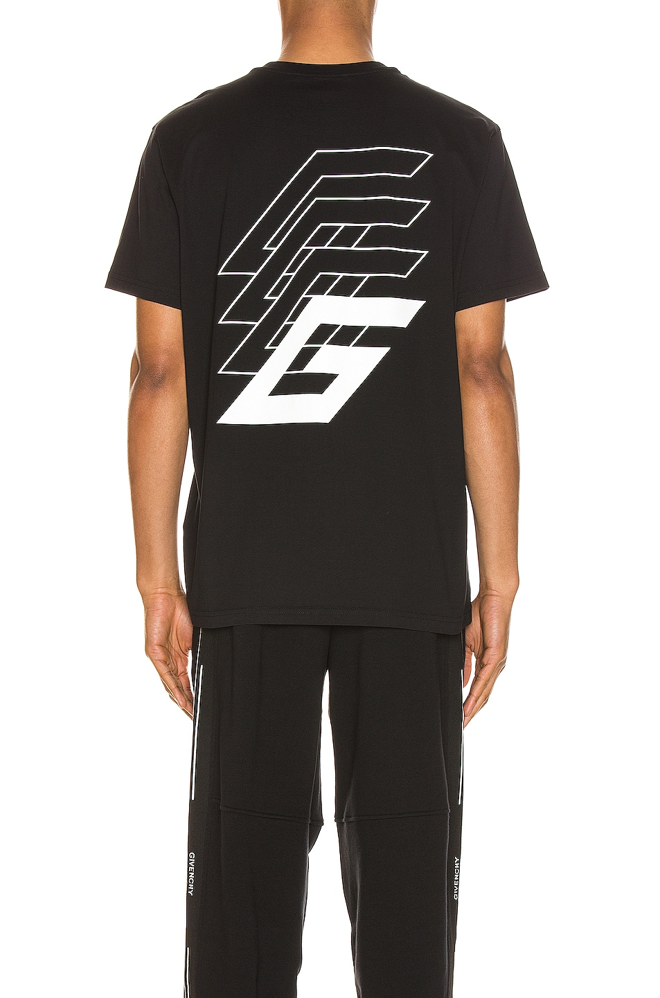 Image 4 of Givenchy Short Sleeve Tee in Black