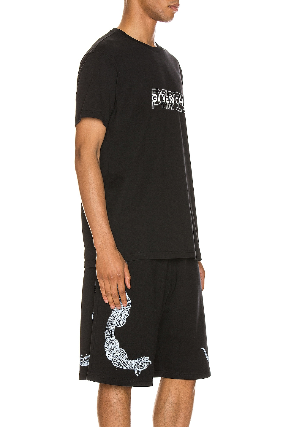 Image 2 of Givenchy Short Sleeve Tee in Black