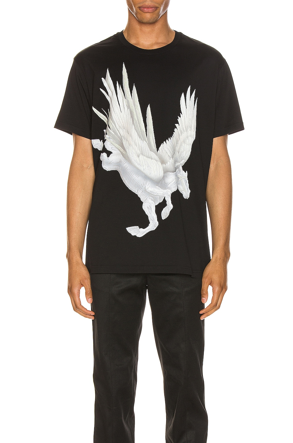 Image 1 of Givenchy Graphic Tee in Black