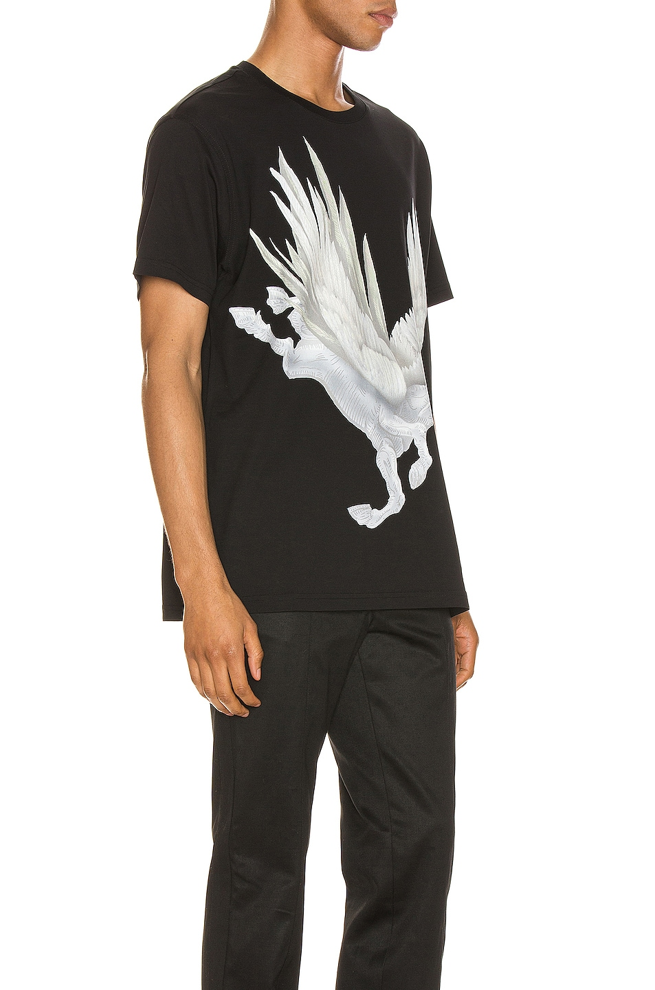 Image 2 of Givenchy Graphic Tee in Black