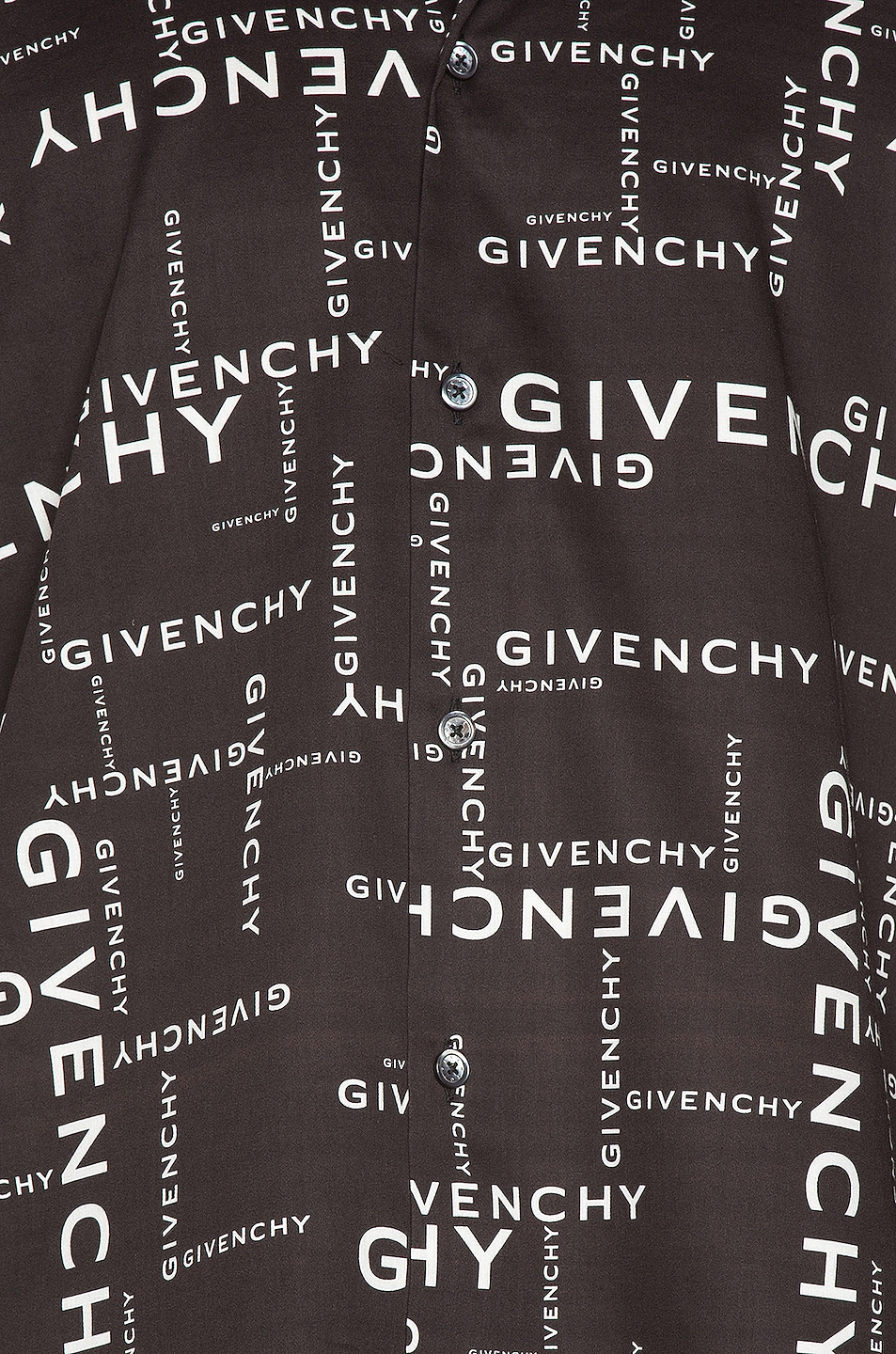 Image 5 of Givenchy Long Sleeve Shirt in Black & White