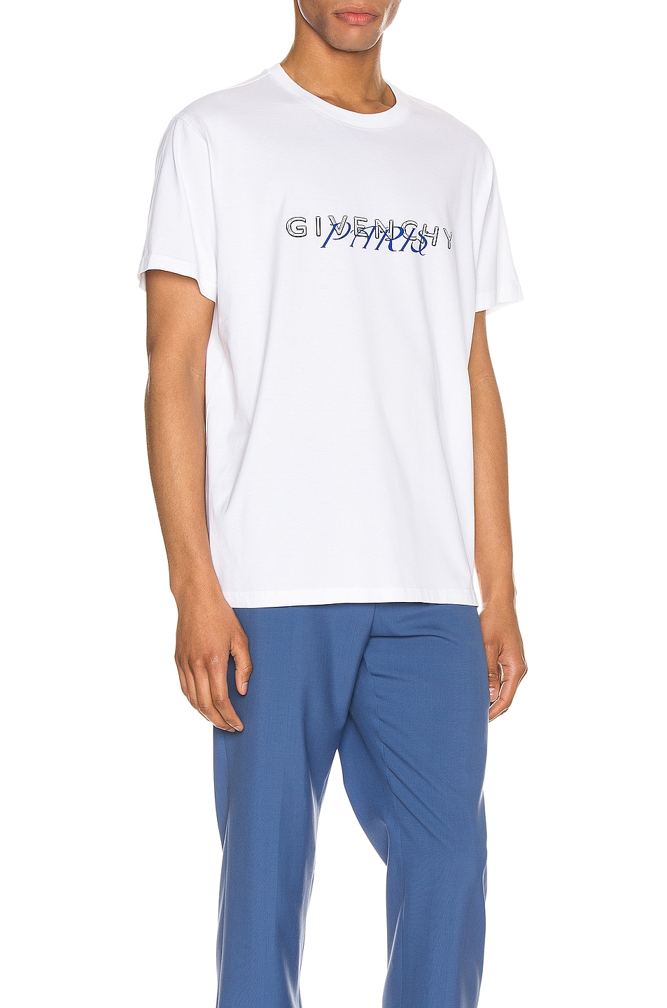 Image 2 of Givenchy Graphic Tee in White