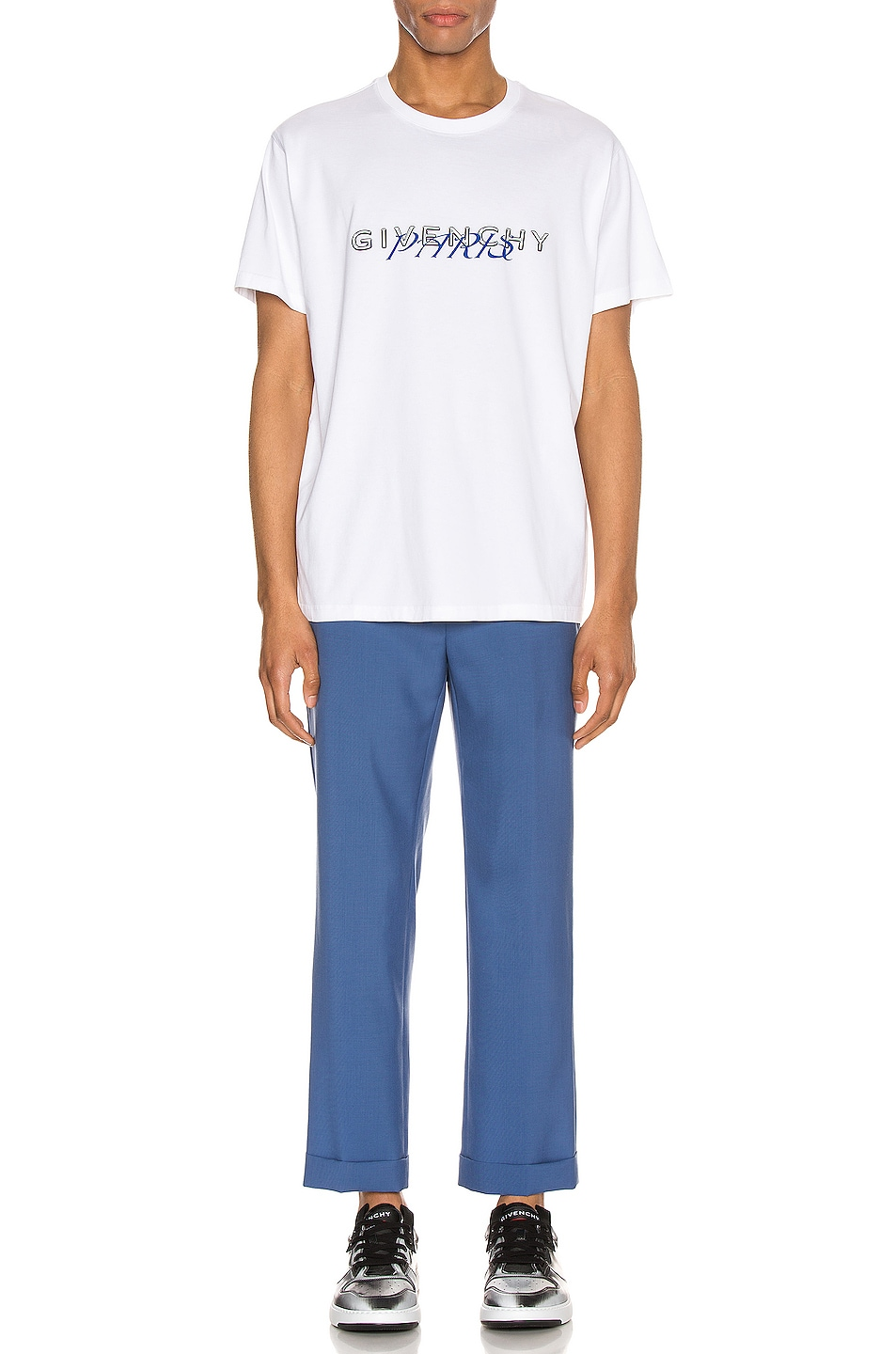 Image 4 of Givenchy Graphic Tee in White