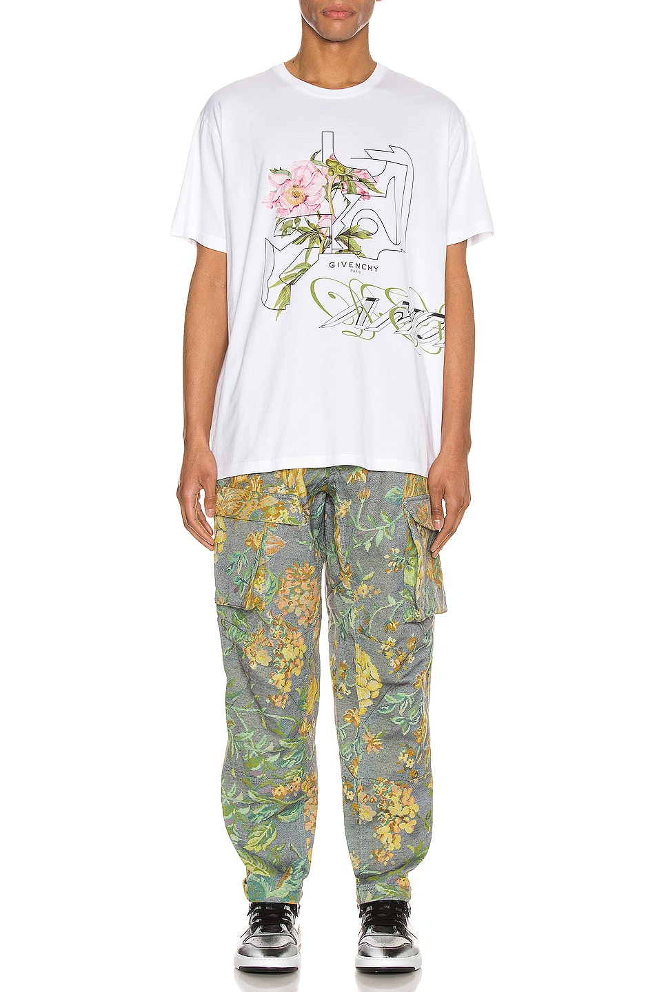 Image 5 of Givenchy Graphic Tee in White