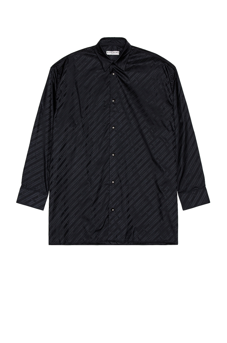 Image 1 of Givenchy Givenchy Chain Shirt in Black