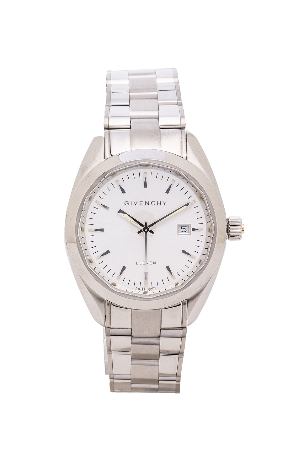 Image 1 of Givenchy Eleven 40MM in White & Silver