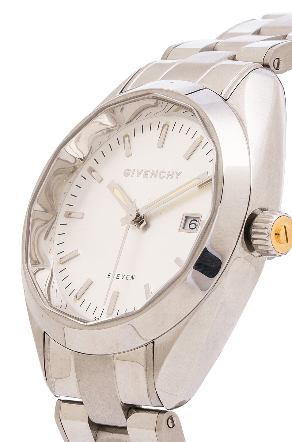 Image 2 of Givenchy Eleven 40MM in White & Silver
