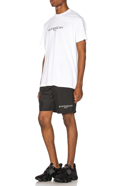 Image 5 of Givenchy Flat Classic Swim Bermuda Short in Black