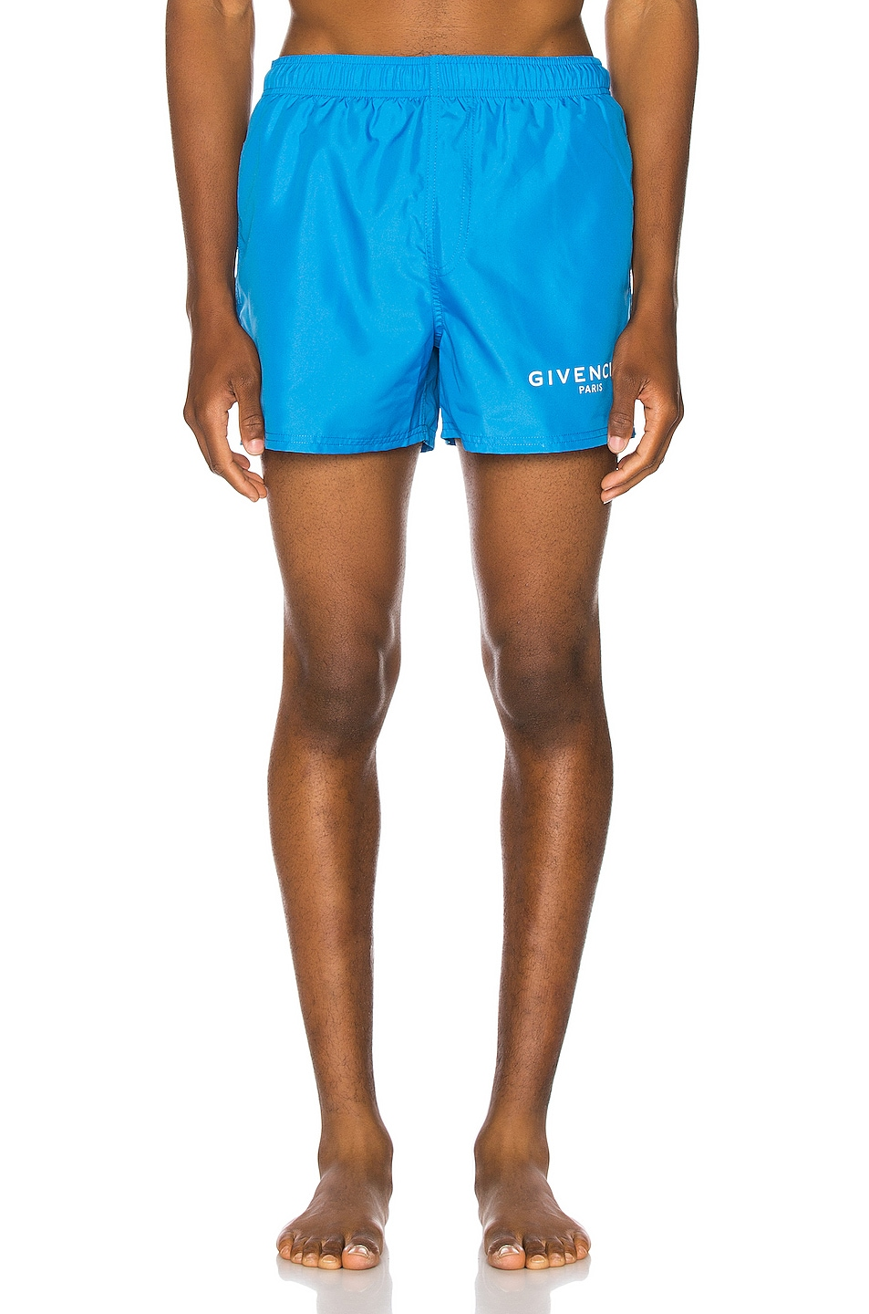 Image 2 of Givenchy Flat Classic Swim Short in Bright Blue