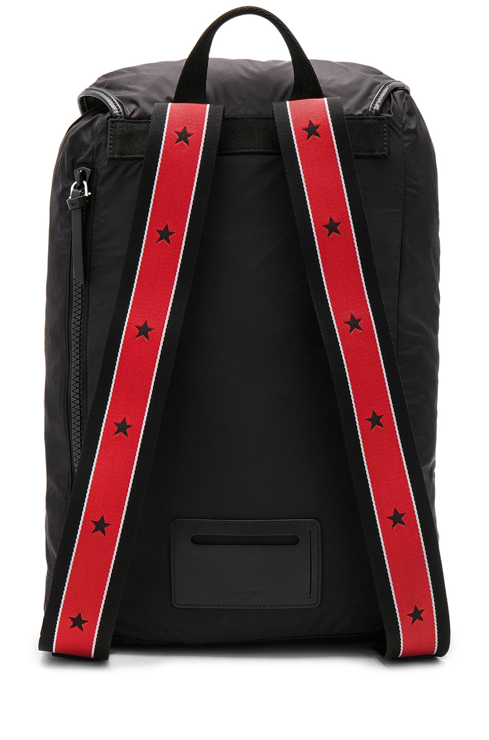 dea6dbc7bf Image 2 of Givenchy Fold Into Bag Backpack in Black   Red
