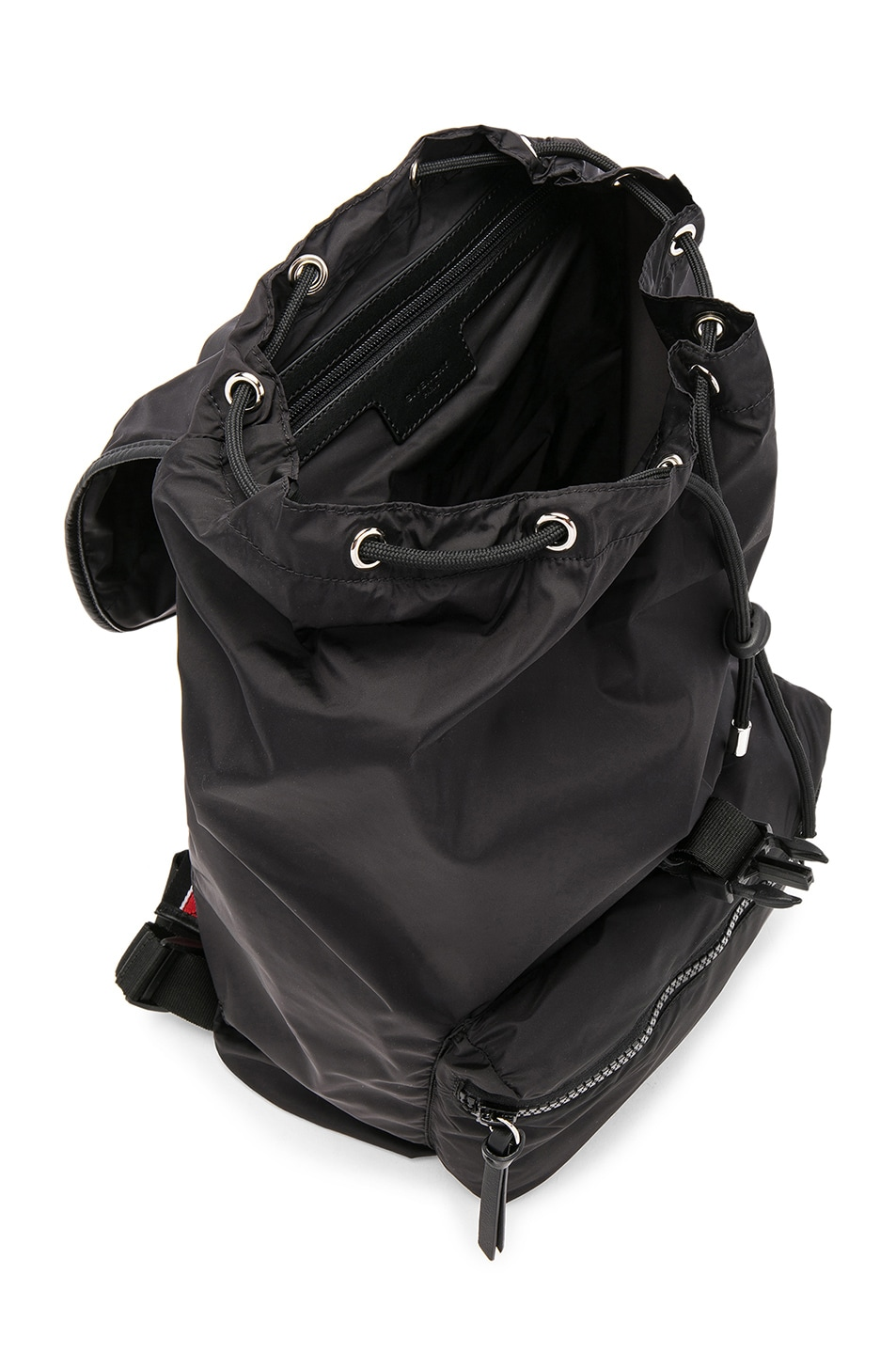 fb31c8634c Image 4 of Givenchy Fold Into Bag Backpack in Black   Red