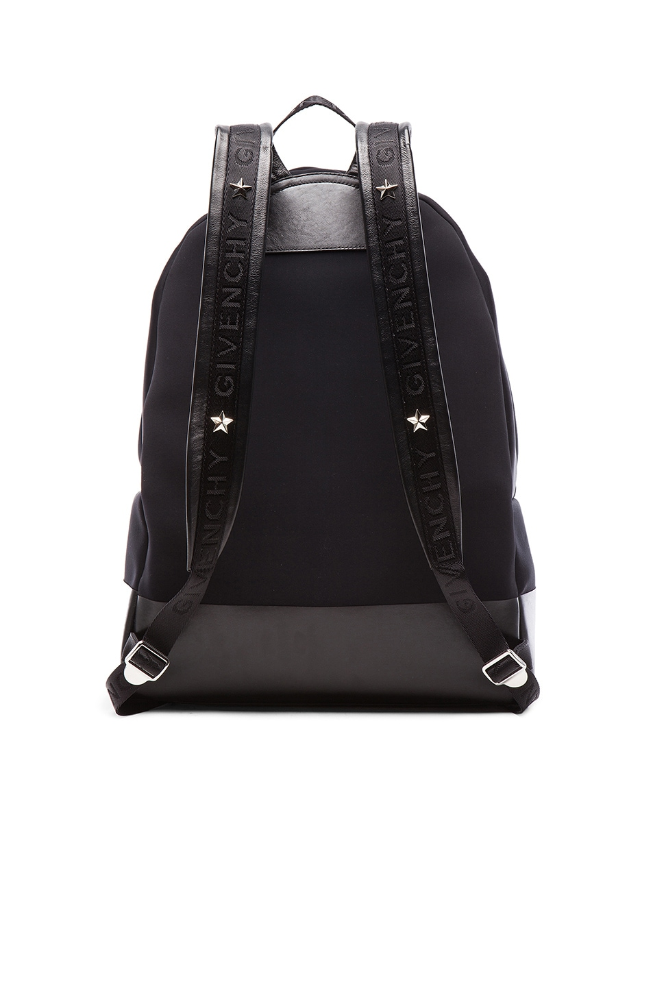 b6c7fcf6a2 Image 2 of Givenchy Neoprene Backpack with Star and Stripes in Black