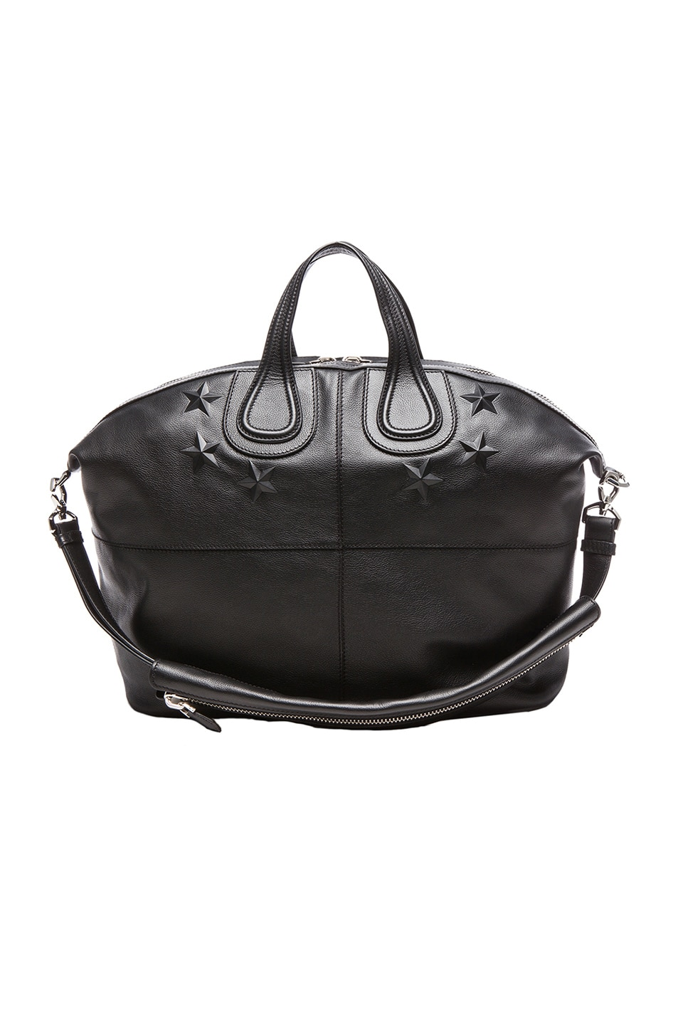 10b48a2d88c4 Image 1 of Givenchy Debossed Star Nightingale Bag in Black