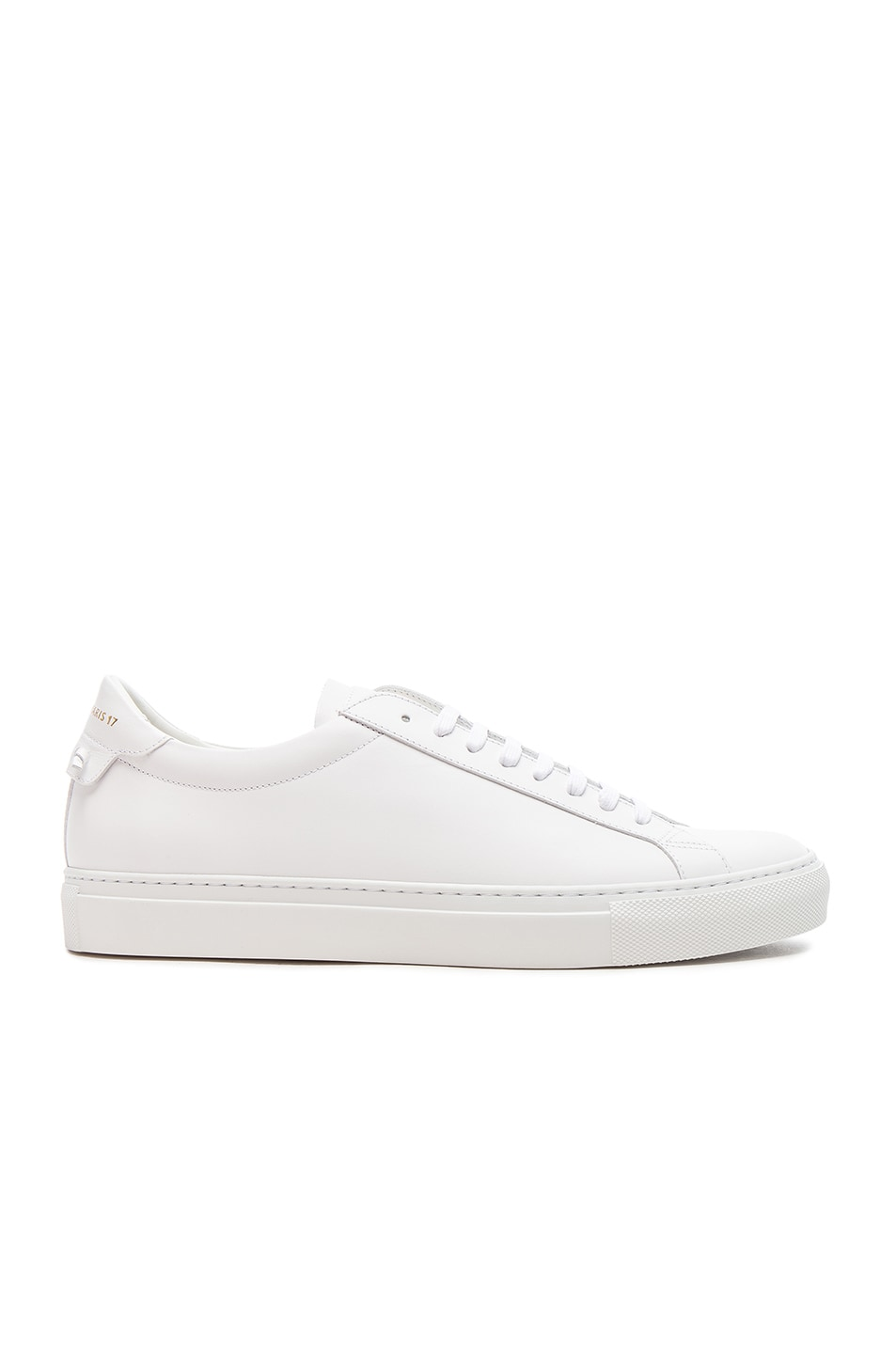 Image 2 of Givenchy Leather Urban Tie Knot Sneakers in White