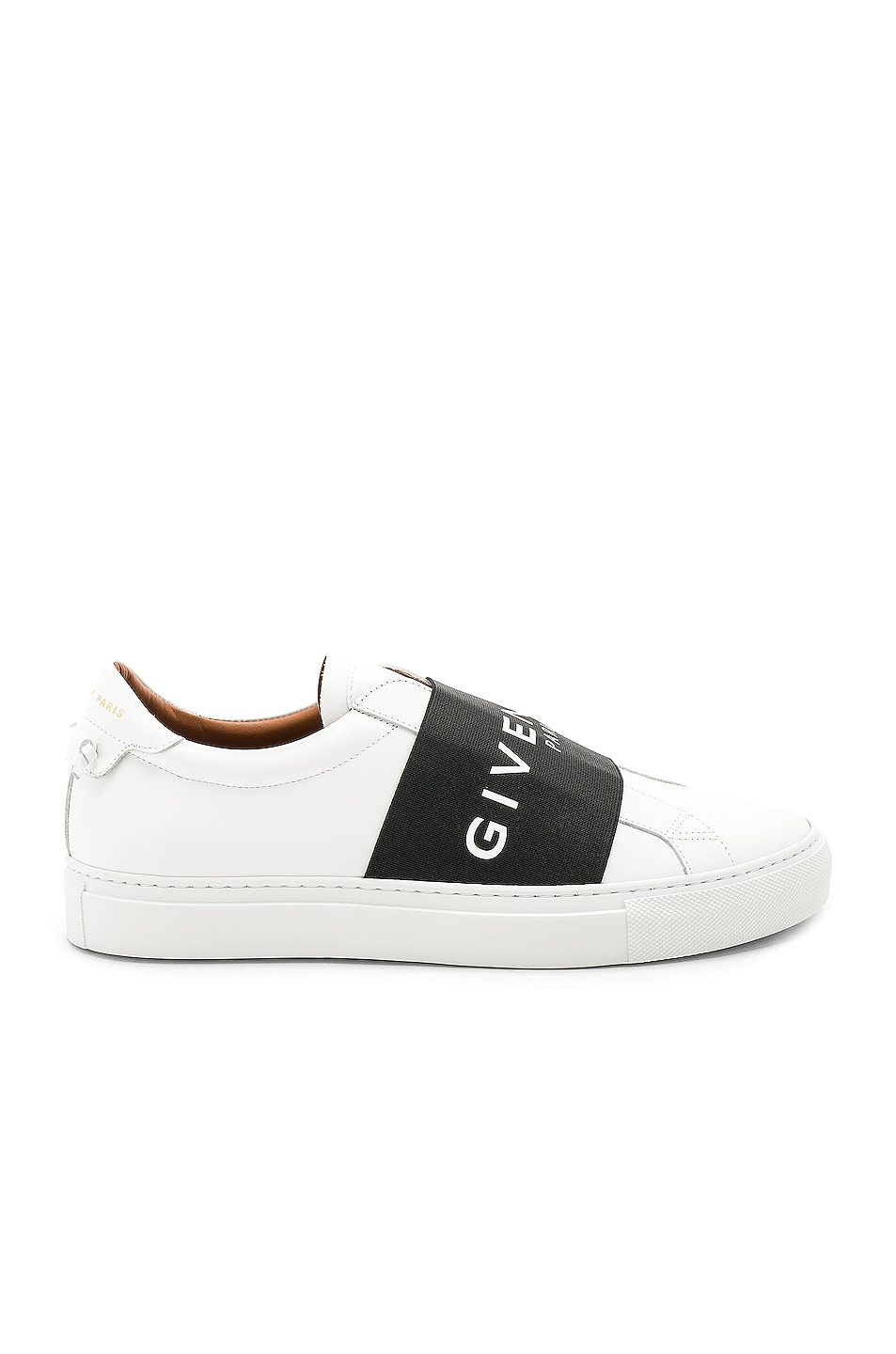 Image 1 of Givenchy Elastic Sneakers in White & Black