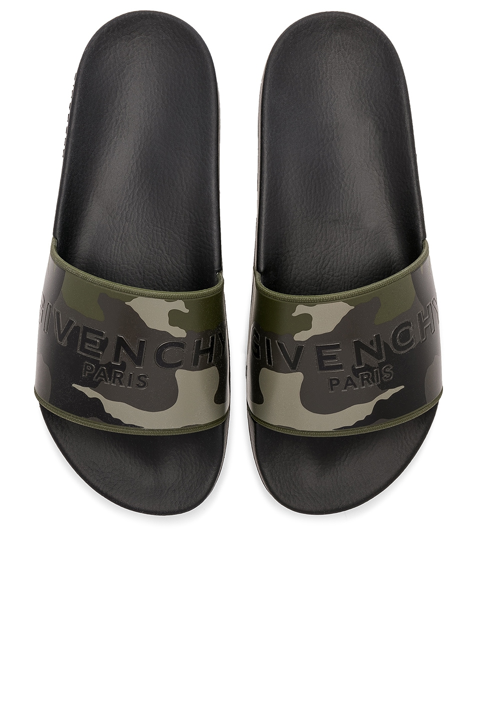 Polyurethane Slide Sandals in White. - size 41 (also in 39,40,42,43,44,45) Givenchy