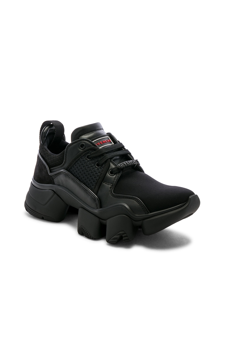 Image 1 of Givenchy Jaw Sneakers in Black