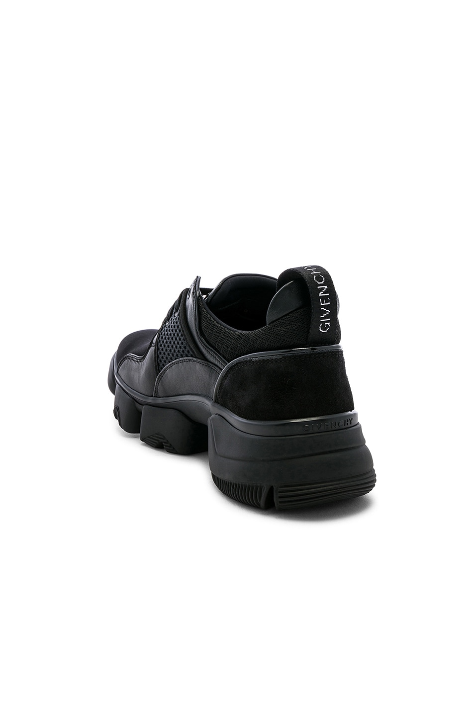 Image 3 of Givenchy Jaw Sneakers in Black