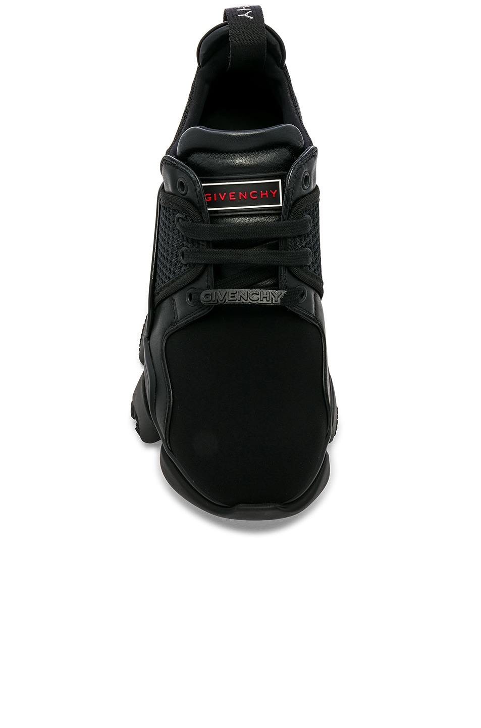 Image 4 of Givenchy Jaw Sneakers in Black