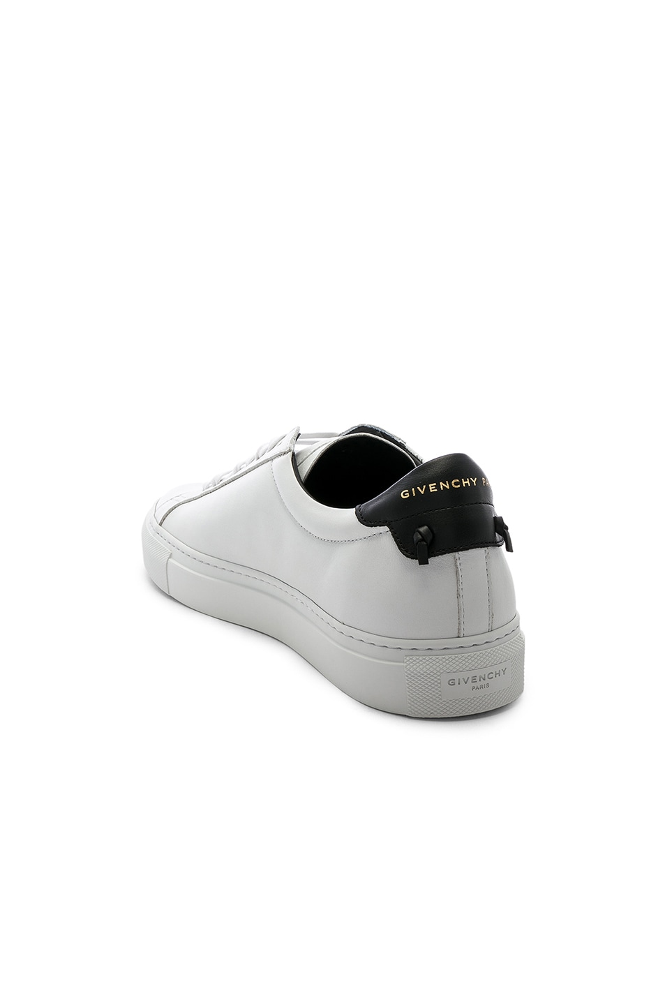 1d763120f Image 3 of Givenchy Urban Street Perforated Sneakers in White & Black