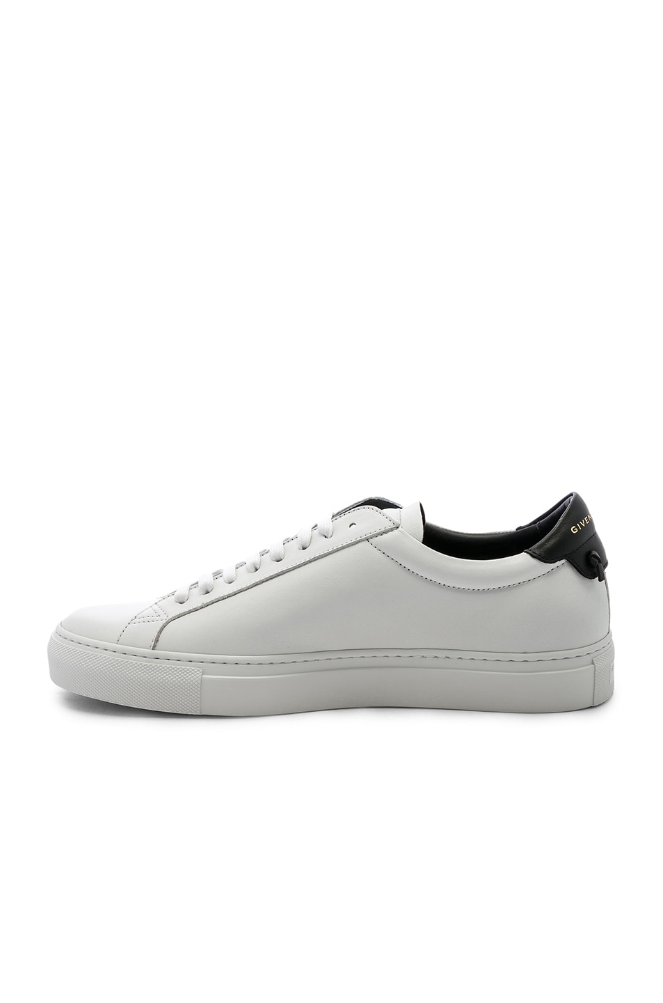 c6fdd7651 Image 5 of Givenchy Urban Street Perforated Sneakers in White & Black