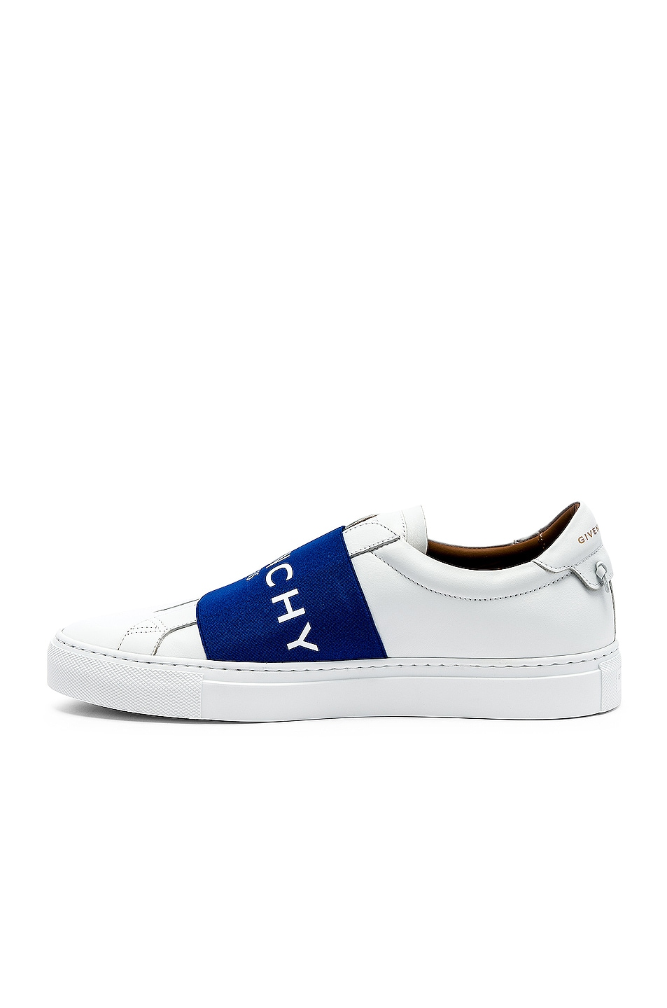 Image 5 of Givenchy Elastic Sneakers in White & Blue