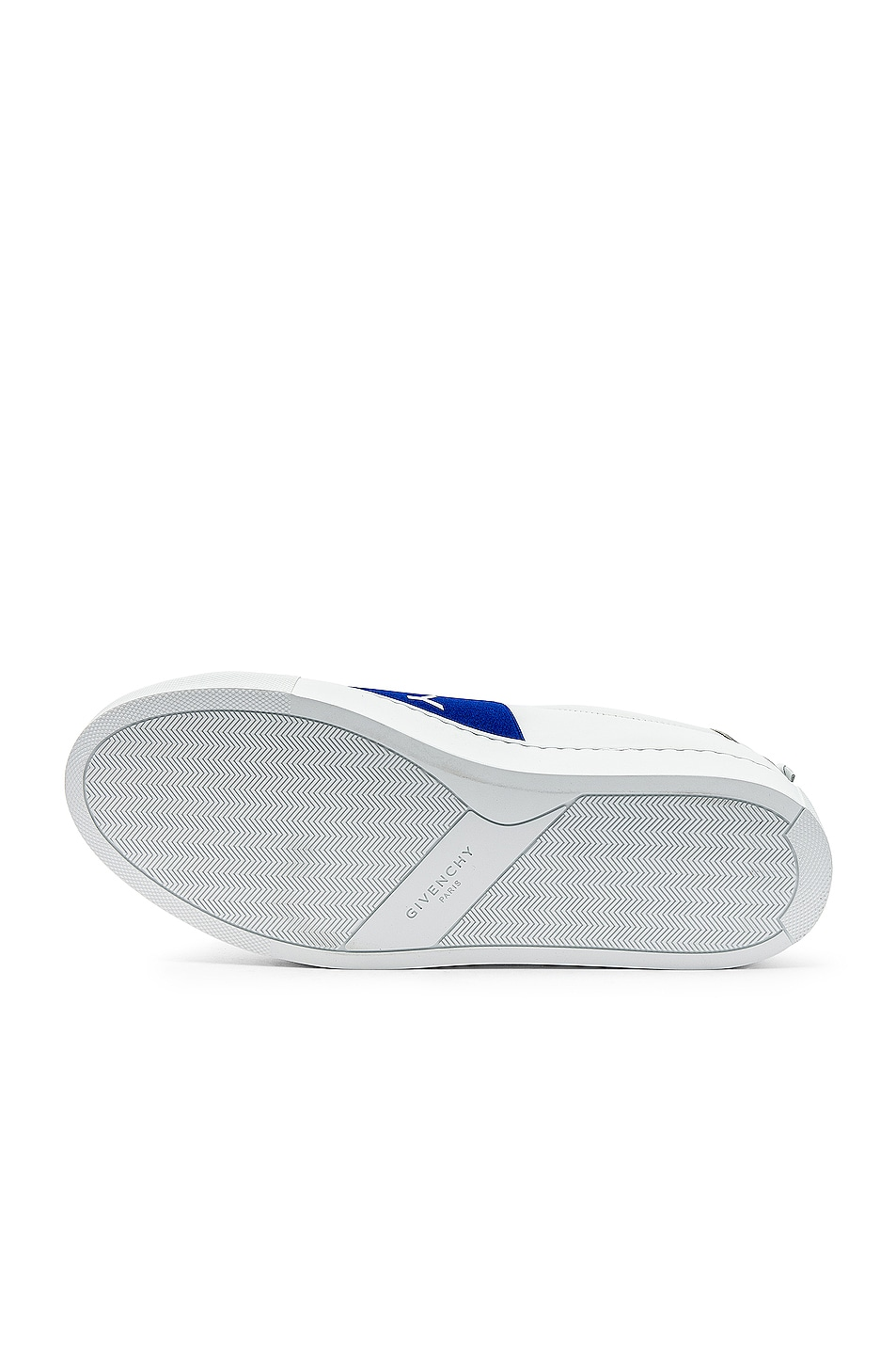 Image 6 of Givenchy Elastic Sneakers in White & Blue