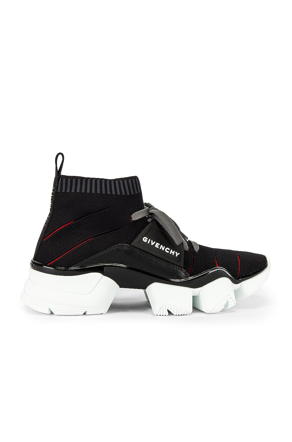 Image 2 of Givenchy Mid Jaw Sock Sneaker in Grey