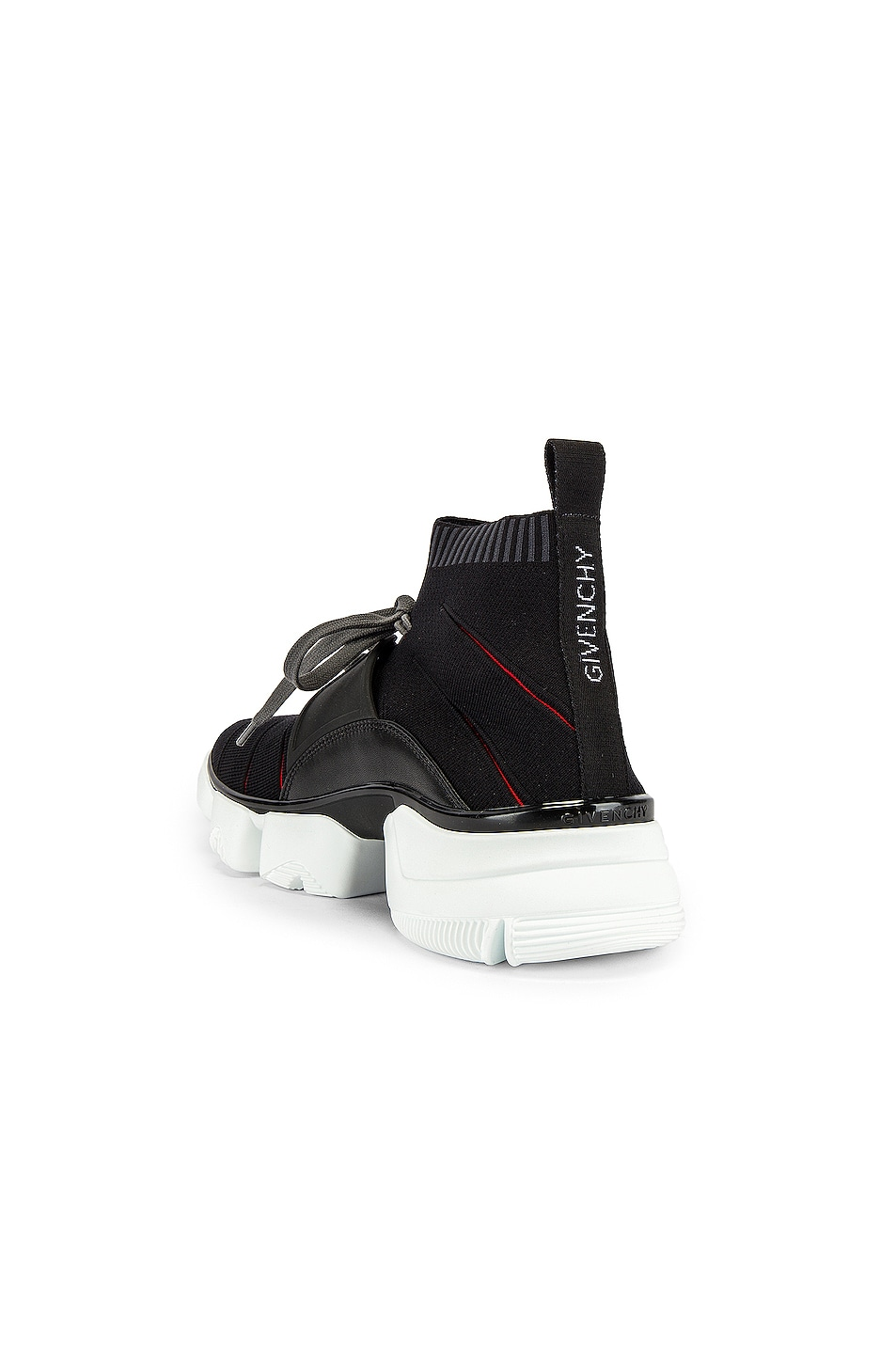 Image 3 of Givenchy Mid Jaw Sock Sneaker in Grey