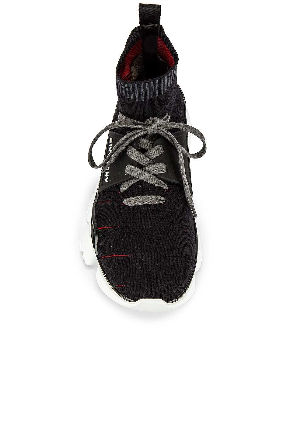 Image 4 of Givenchy Mid Jaw Sock Sneaker in Grey