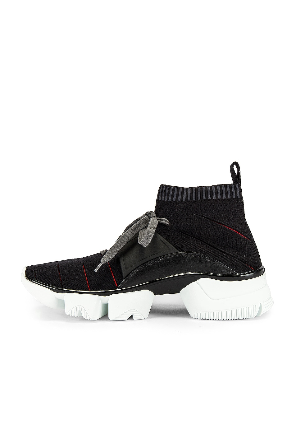 Image 5 of Givenchy Mid Jaw Sock Sneaker in Grey