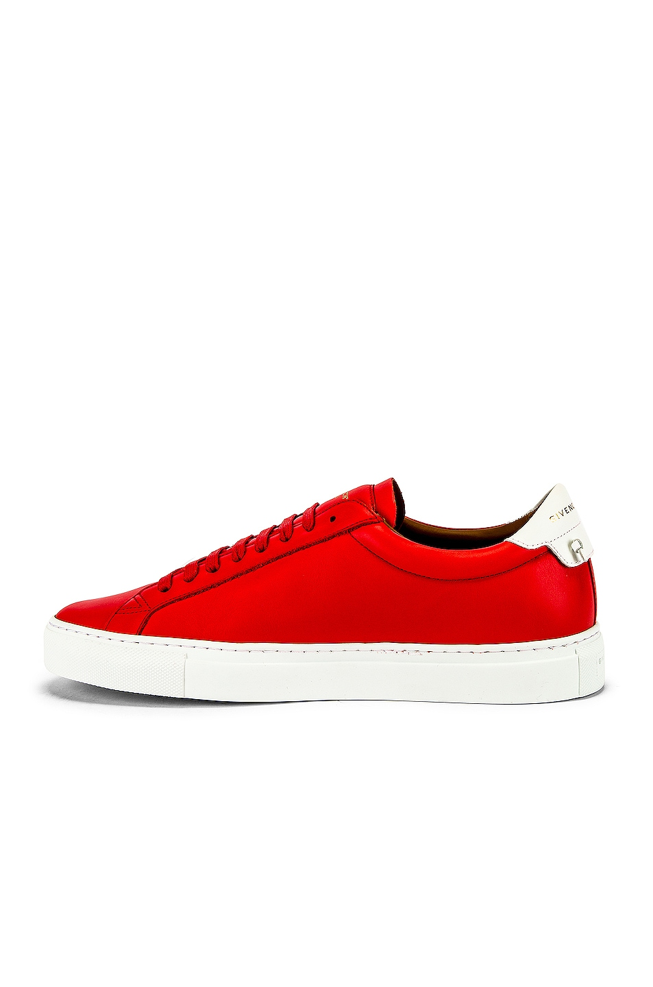Image 5 of Givenchy Urban Street Low Sneakers in Red & White