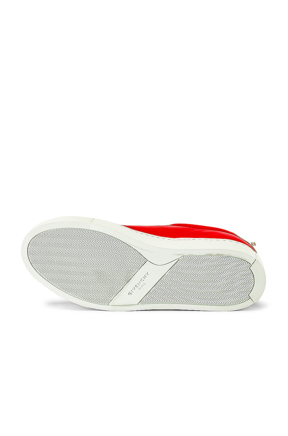 Image 6 of Givenchy Urban Street Low Sneakers in Red & White