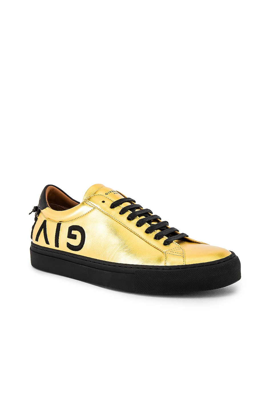 Image 1 of Givenchy Urban Street Low Sneakers in Gold