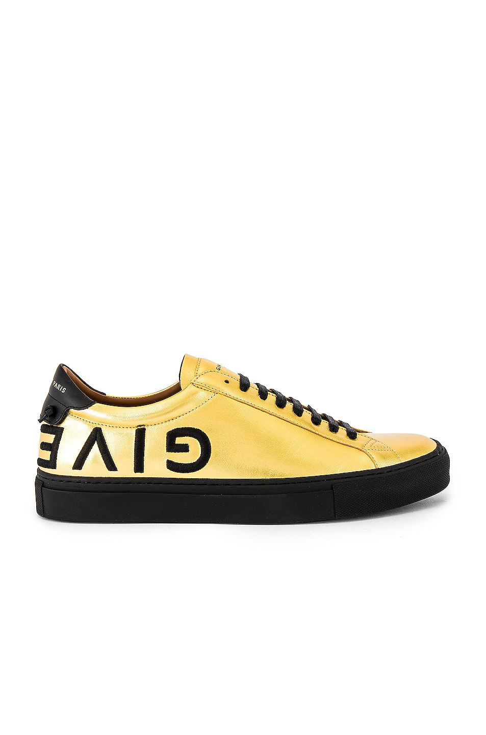 Image 2 of Givenchy Urban Street Low Sneakers in Gold