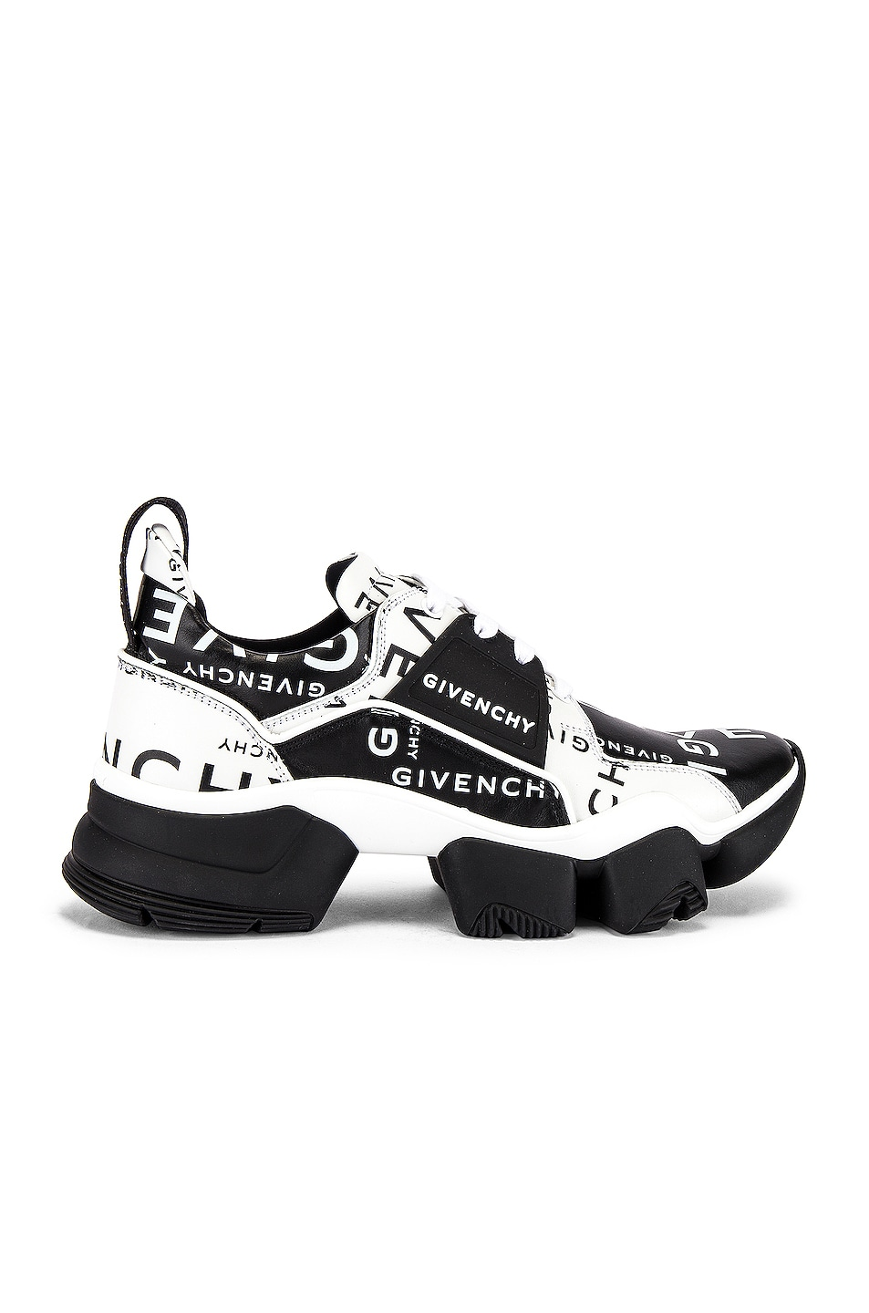 Image 2 of Givenchy Jaw Sneaker in Black & White
