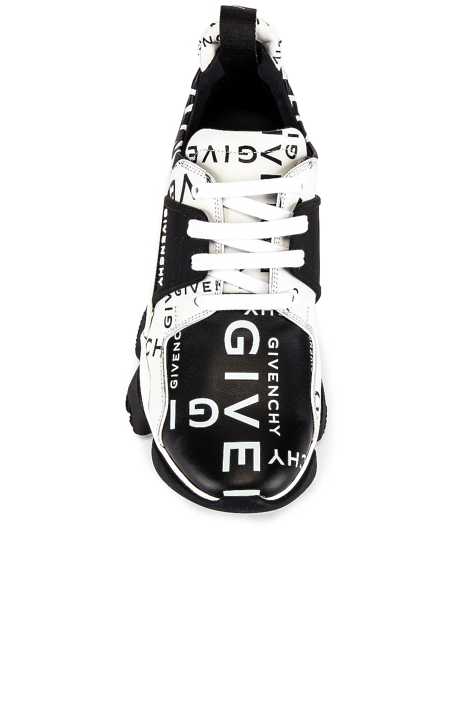 Image 4 of Givenchy Jaw Sneaker in Black & White