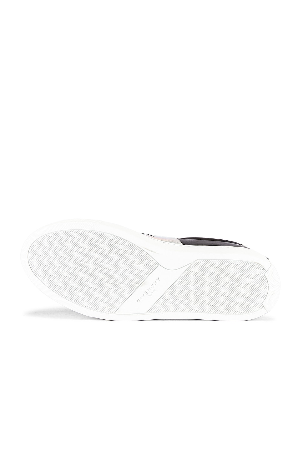 Image 6 of Givenchy Urban Street Elastic Sneakers in Black & White