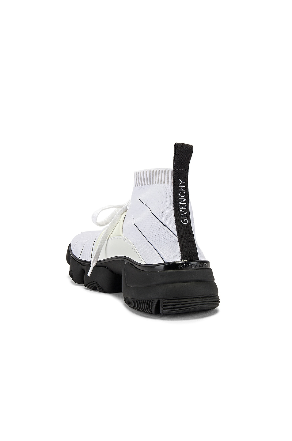 Image 3 of Givenchy Mid Jaw Sock Sneaker in White
