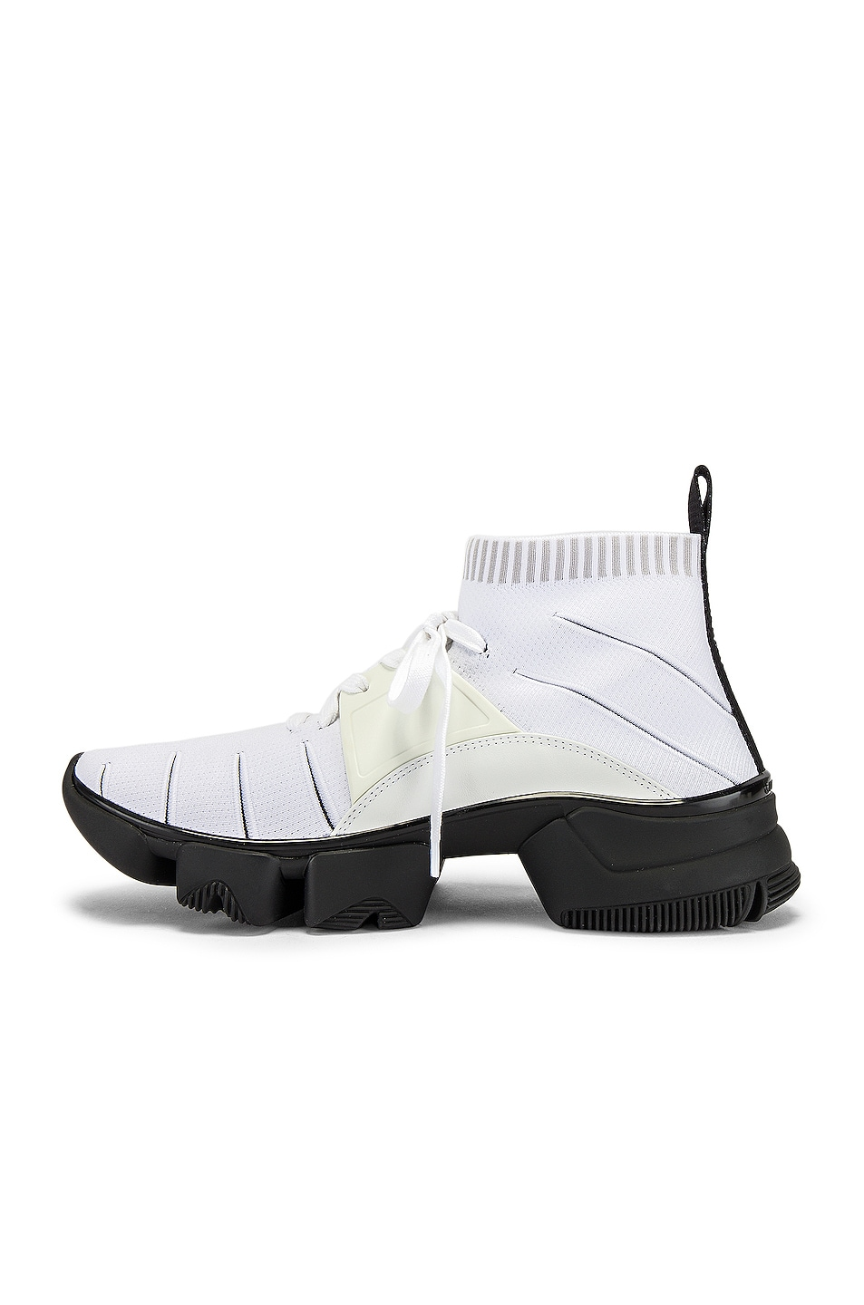 Image 5 of Givenchy Mid Jaw Sock Sneaker in White