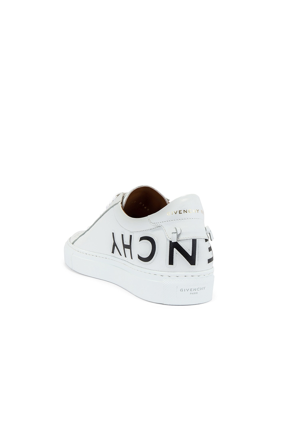 Image 3 of Givenchy Urban Street Sneaker in White & Black