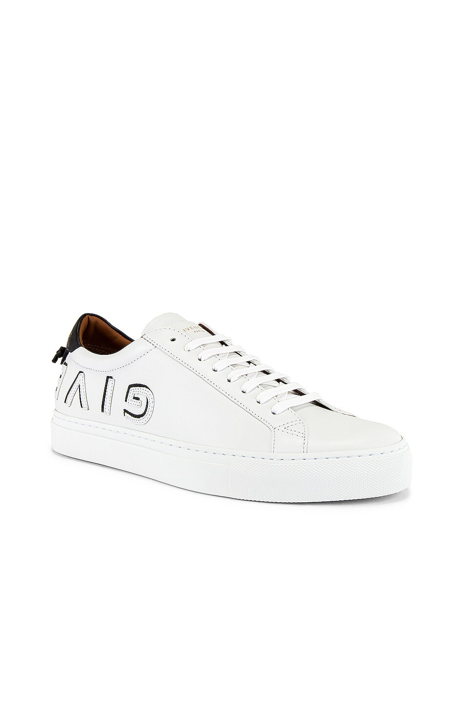 Image 2 of Givenchy Urban Street Sneaker in White & Black