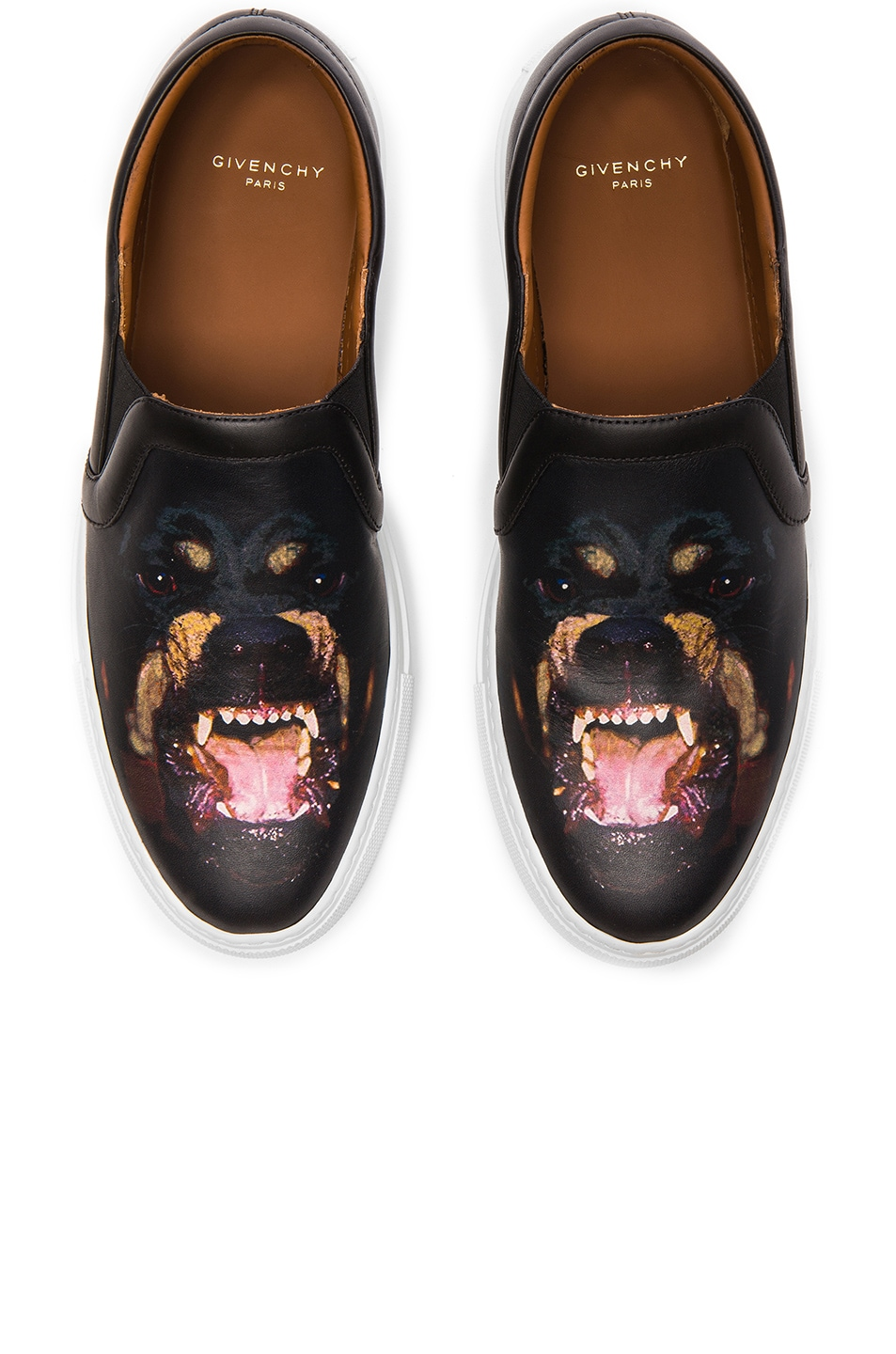 Image 1 of GIVENCHY Printed Street Skate Leather Sneakers in Multi