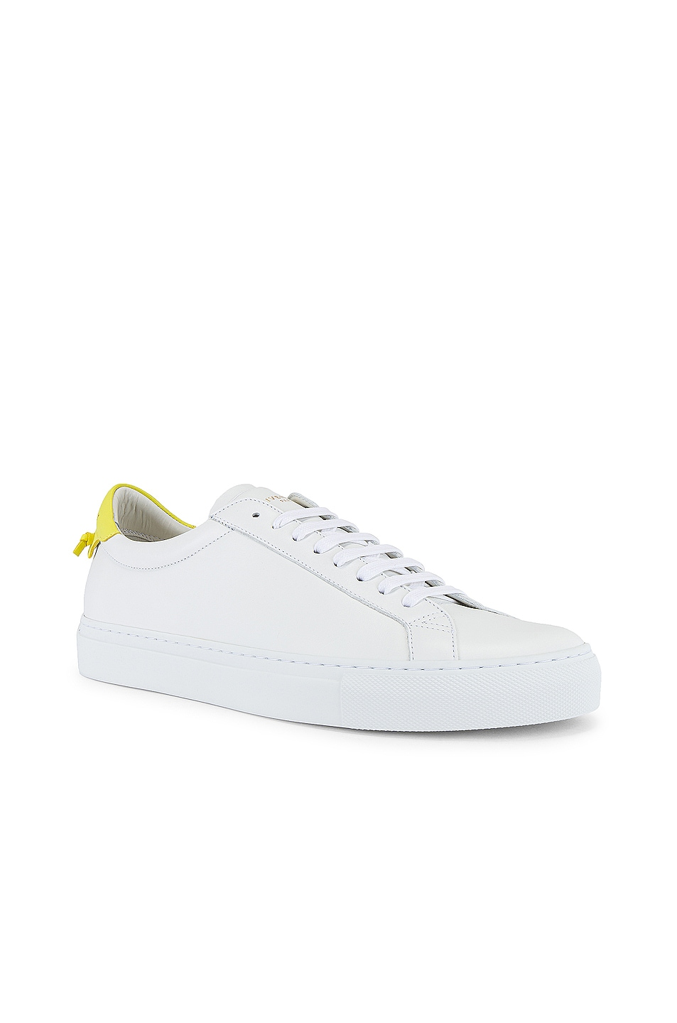 Image 1 of Givenchy Urban Street Low Sneaker in White & Yellow
