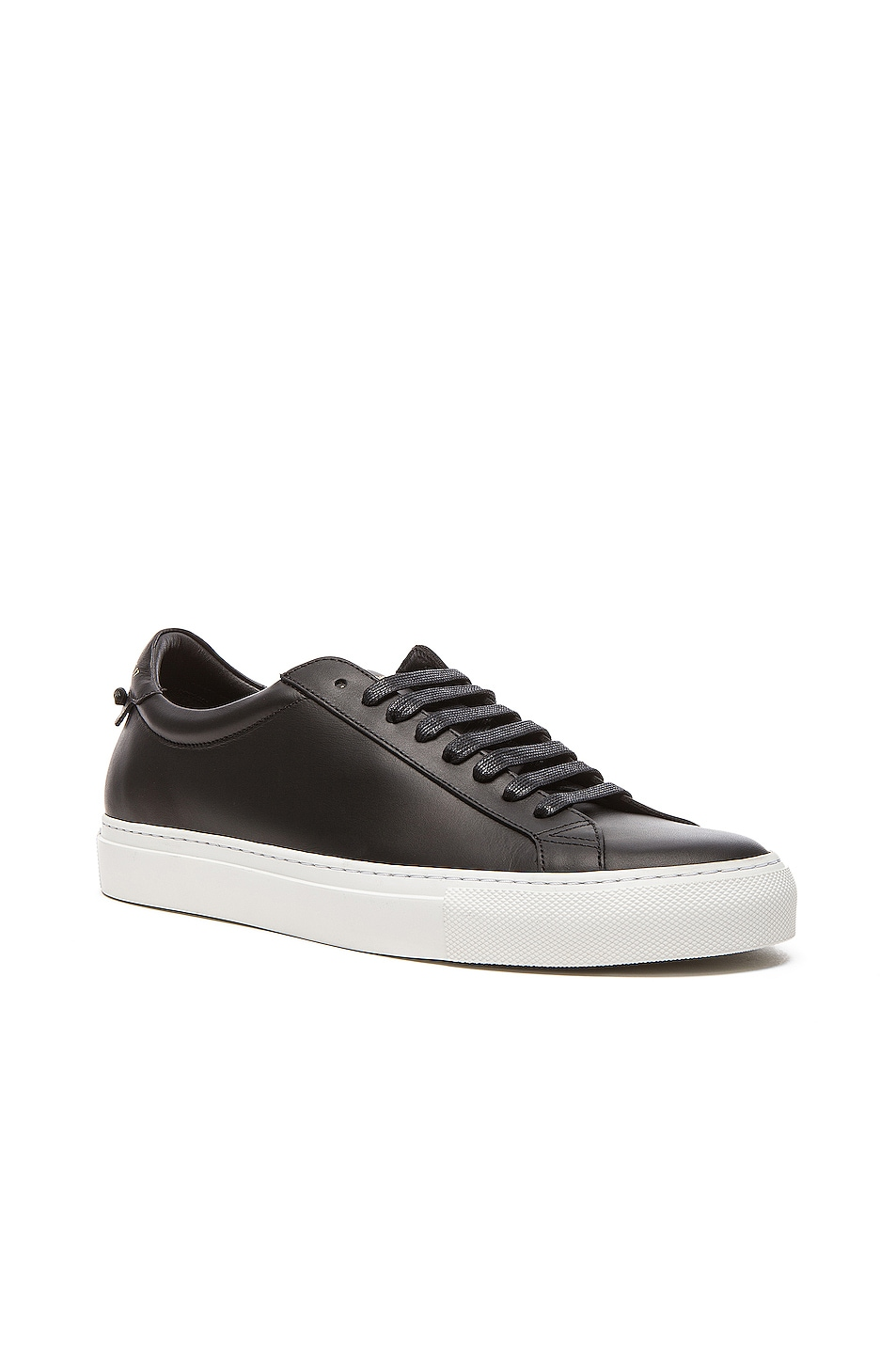 Image 2 of Givenchy Knots Low Top Leather Sneakers in Black