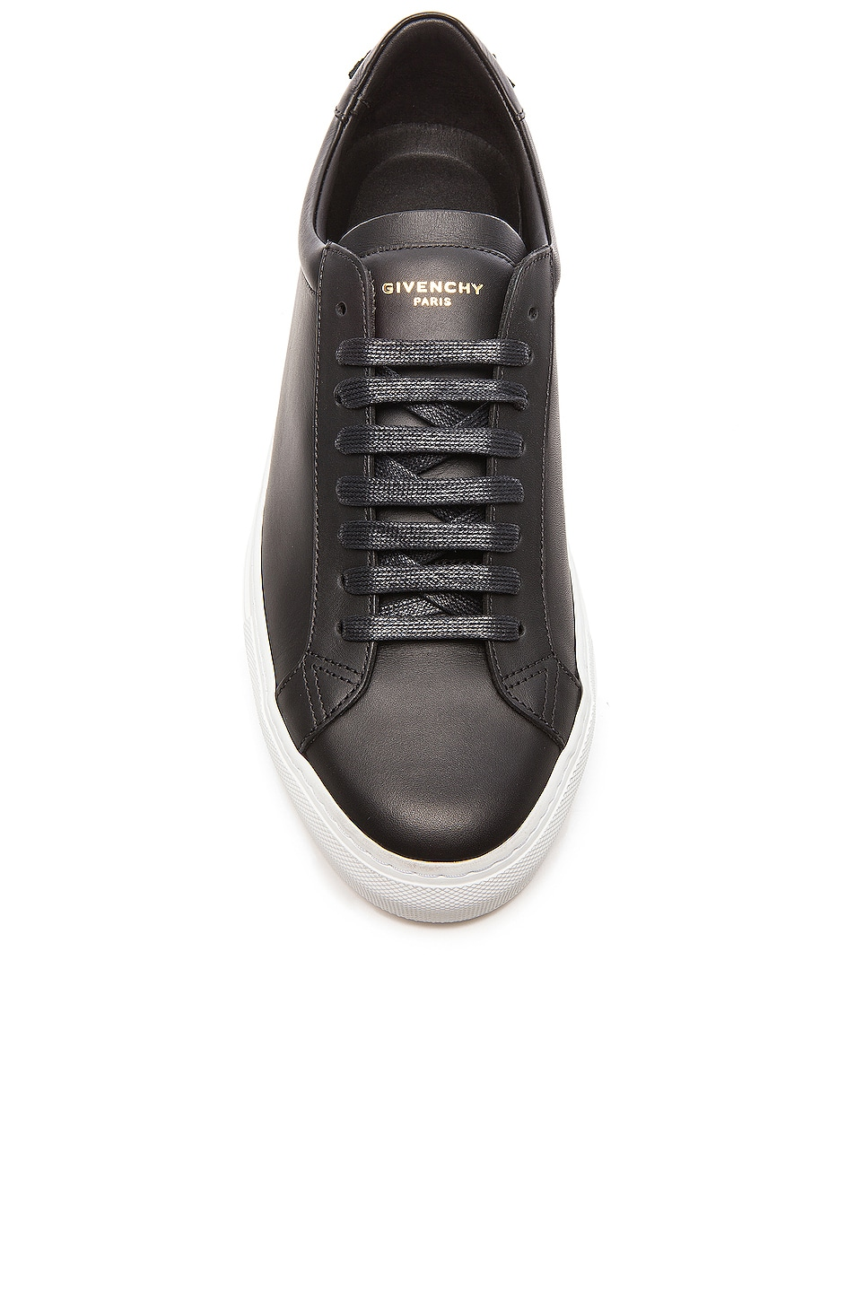 Image 4 of Givenchy Knots Low Top Leather Sneakers in Black