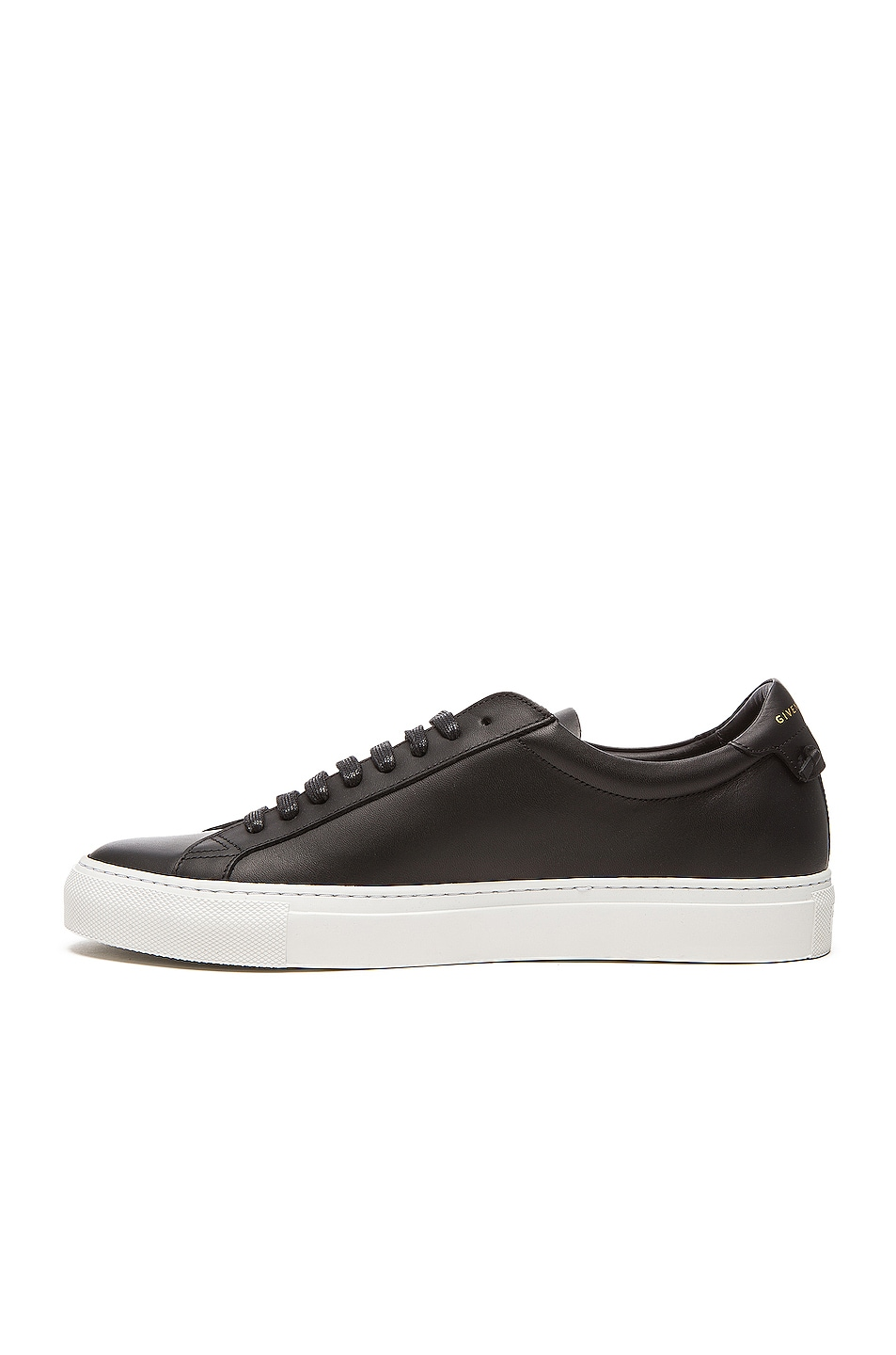 Image 5 of Givenchy Knots Low Top Leather Sneakers in Black