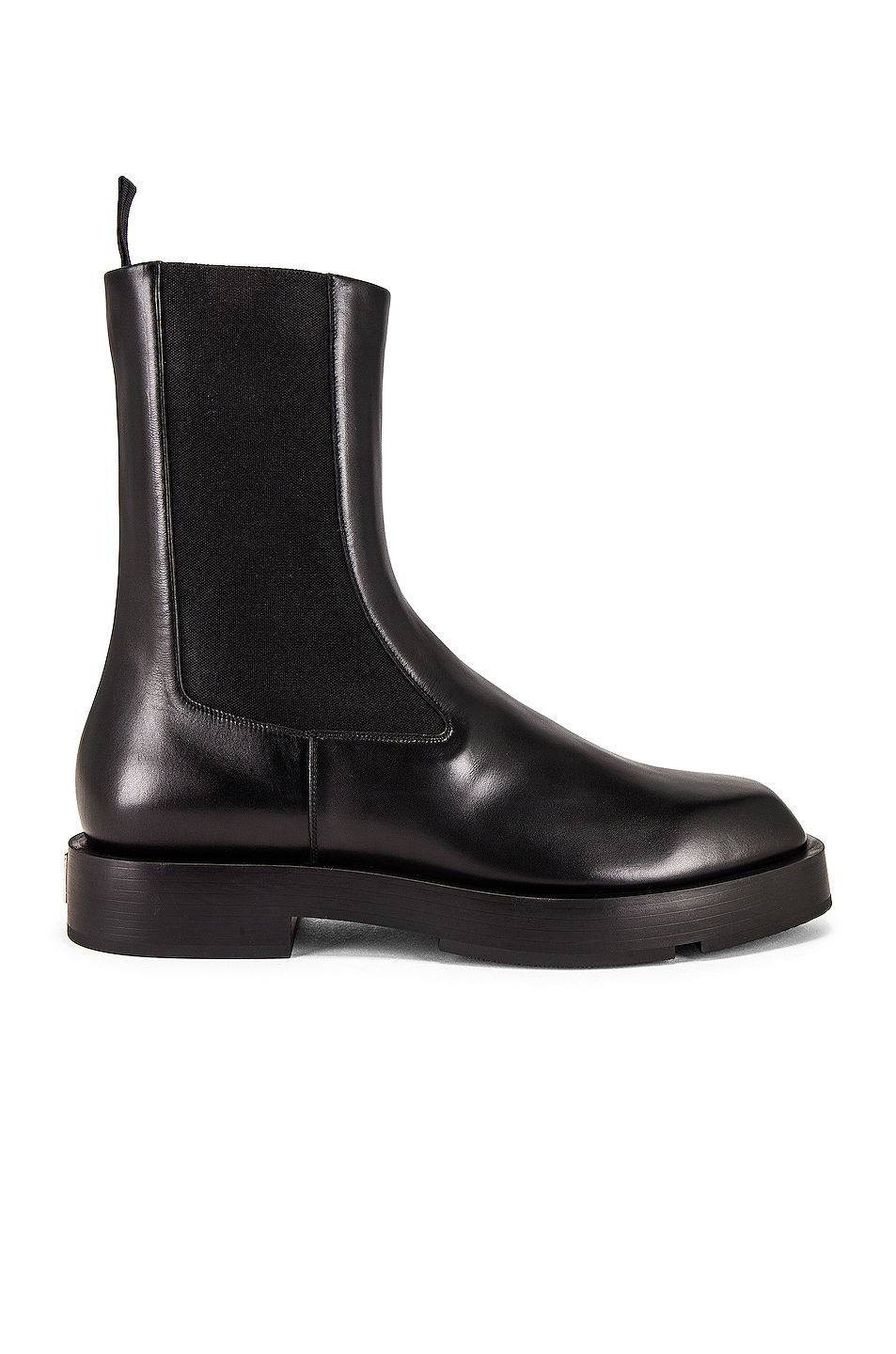 Image 1 of Givenchy Squared Ankle Boot in Black